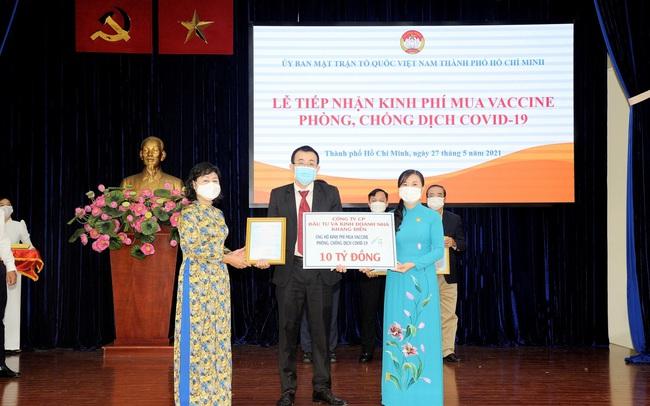 Khang Điền ủng hộ 20 tỷ đồng mua vaccine phòng chống dịch Covid-19