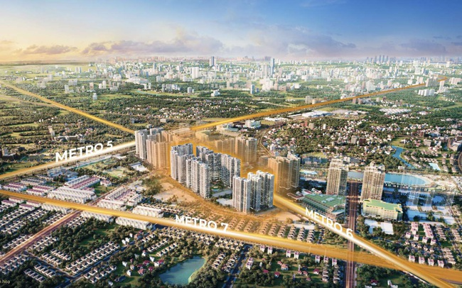 Ra mắt dự án The Metrolines tại Vinhomes Smart City