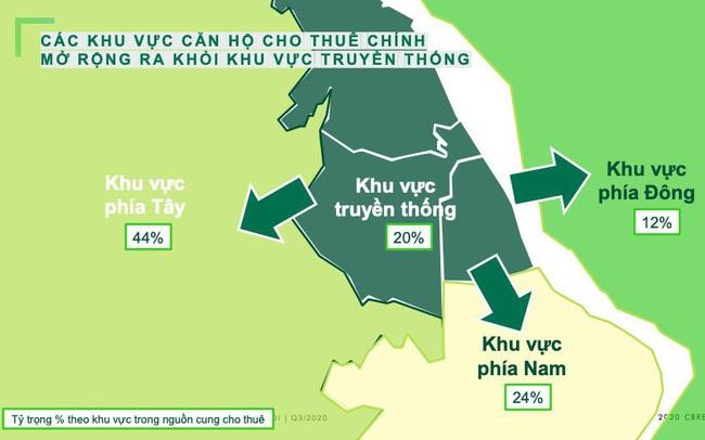 Thị trường căn hộ tại khu Tây Hà Nội: Rộng cửa đón nhà đầu tư