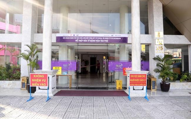 Hội DNT Việt Nam, TTC, Sacombank đồng hành cùng Sở Y tế TP.HCM tiếp sức y bác sỹ