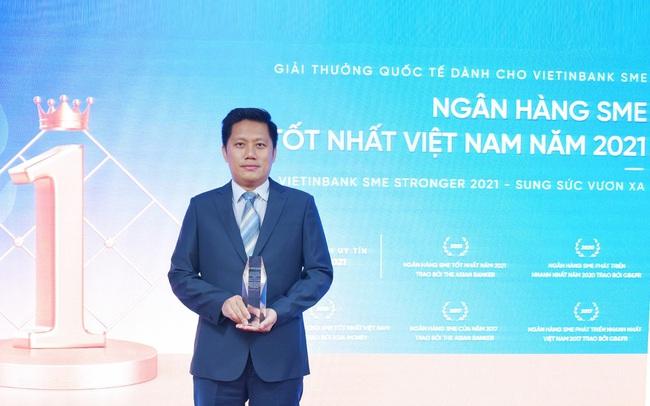 VietinBank hai lần đạt Giải thưởng Ngân hàng SME tốt nhất Việt Nam