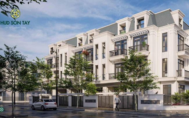 HUD Sơn Tây – KĐT nhà phố thương mại đẳng cấp chuẩn Châu Âu