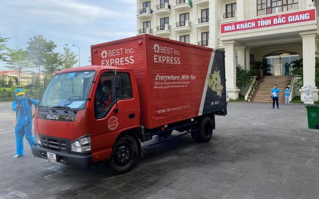 BEST Express hỗ trợ vận chuyển miễn phí hàng cứu trợ đến vùng dịch