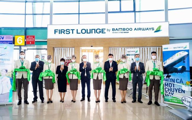 Bamboo Airways chính thức khai trương Phòng chờ Thương gia tại Quy Nhơn