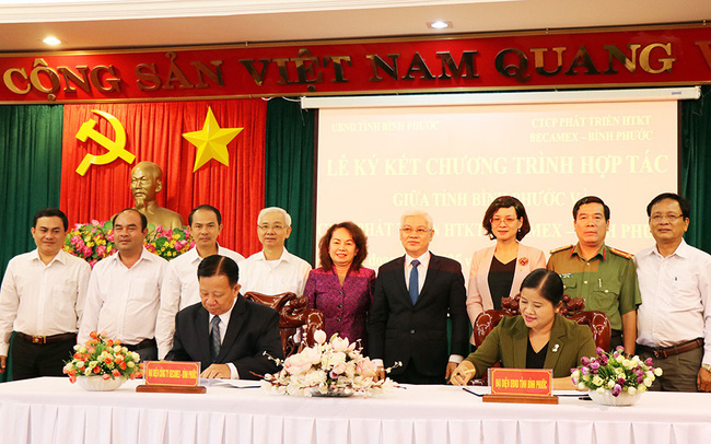 Becamex và Đại Nam gom quỹ đất hơn 10.000 ha ở Bình Phước