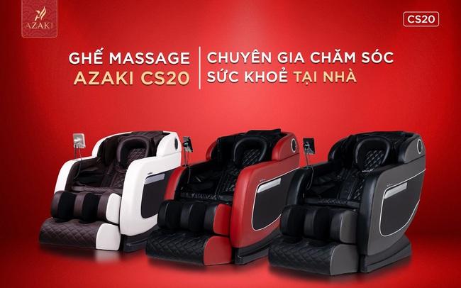 Giải mã sức hút của ghế massage Azaki