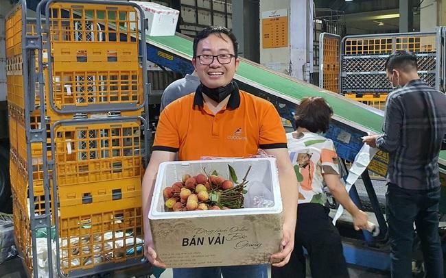 Bán online 100 tấn vải Bắc Giang trong 10 ngày - Thành công này của Cuccu.vn đến từ đâu?