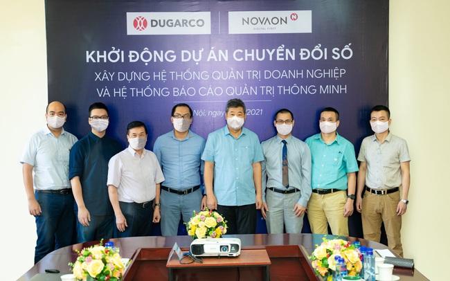 Đồng hành cùng Novaon, TCT Đức Giang chuyển đổi số toàn diện doanh nghiệp