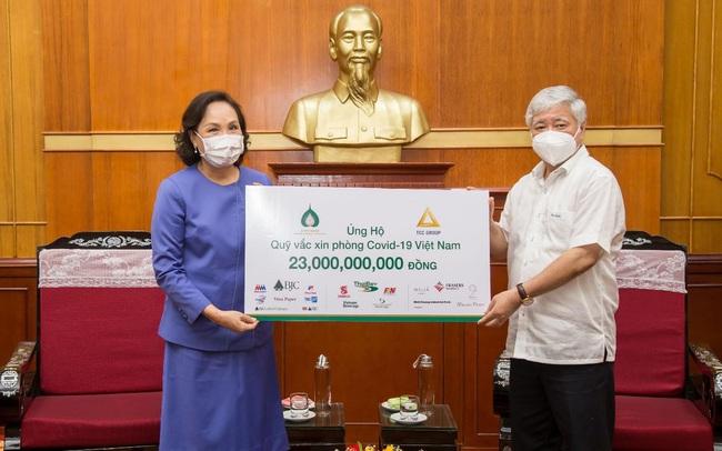 Tập đoàn TCC đóng góp 1 triệu USD mua vắc xin phòng chống Covid-19 tại Việt Nam