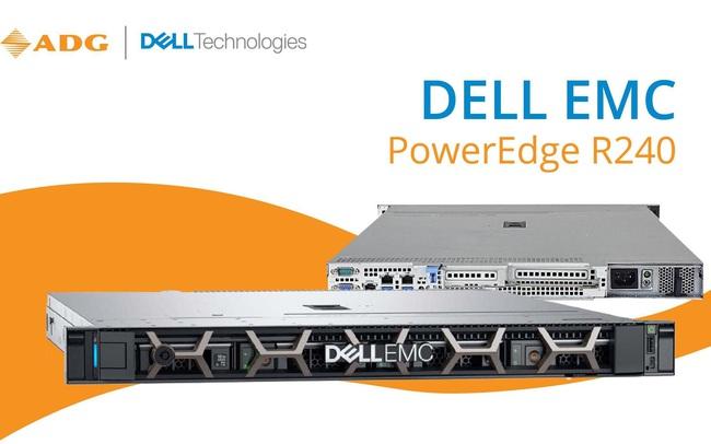 Đánh giá máy chủ Dell EMC Poweredge R240