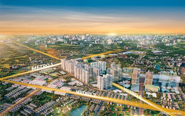 Dự đoán tương lai của đô thị  kết nối The Metrolines