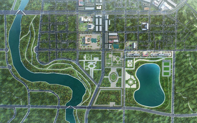 Thái Hòa đẩy mạnh phát triển khu hành chính và hạ tầng xã hội để đạt tiêu chuẩn thành phố đô thị loại III
