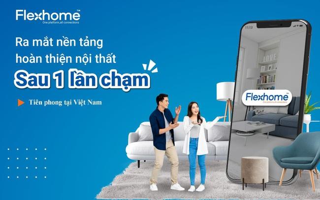Ra mắt nền tảng hoàn thiện nội thất toàn diện Flexhome