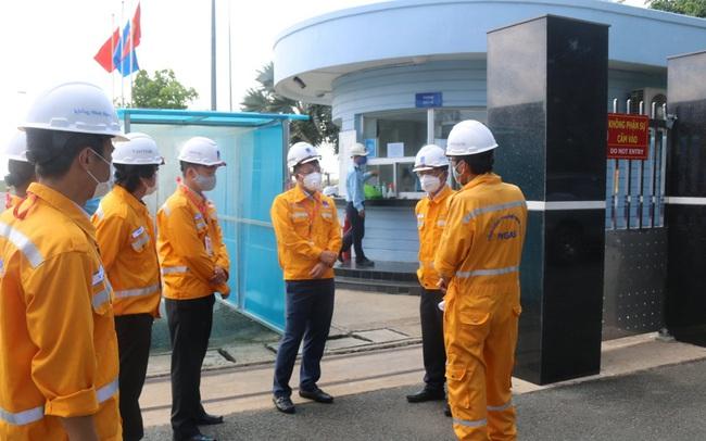 Công ty Vận chuyển Khí Đông Nam bộ triển khai nhiều biện pháp phòng chống dịch Covid-19