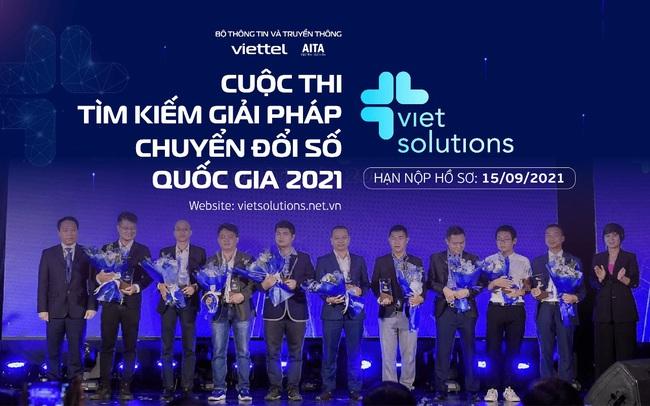 Viet Solution 2021 gia hạn nộp hồ sơ dự thi đến hết ngày 15/9