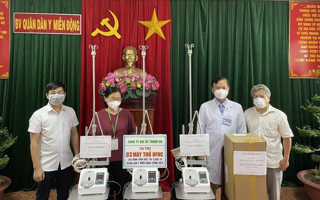 Thành Đô trao tặng trang thiết bị y tế cho bệnh viên quân dân y Miền Đông