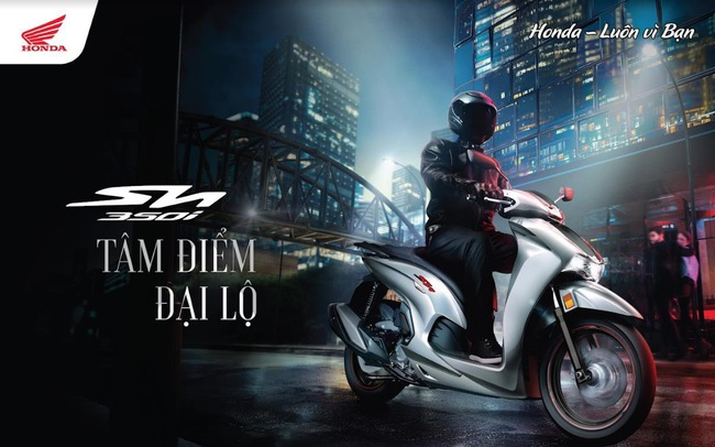 Honda SH350i hoàn toàn mới vừa ra mắt có điểm nổi bật gì?