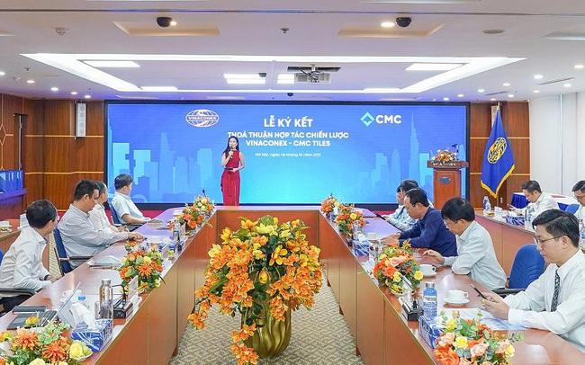 CMC & Vinaconex ký kết thỏa thuận hợp tác chiến lược toàn diện