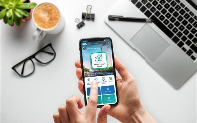Chọn số tài khoản Như ý trên BIDV SmartBanking từ 0 đồng