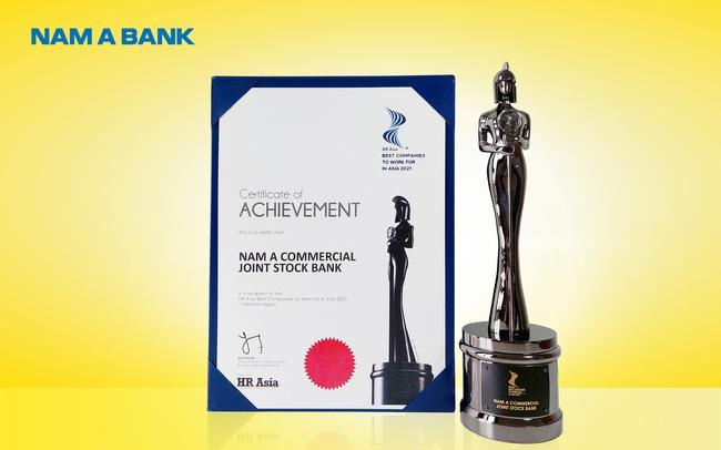 HR Asia Magazine vinh danh Nam A Bank là nơi làm việc tốt nhất châu Á