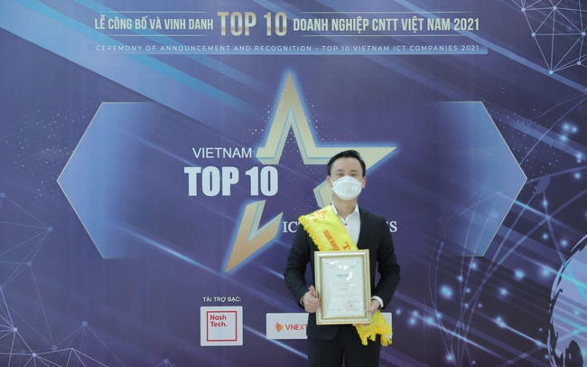 FPT Telecom đạt giải thưởng Top 10 doanh nghiệp công nghệ thông tin Việt Nam 2021