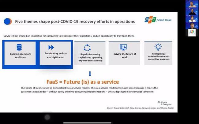 FPT Smart Cloud và VMware thảo luận cách thức chuyển đổi hạ tầng