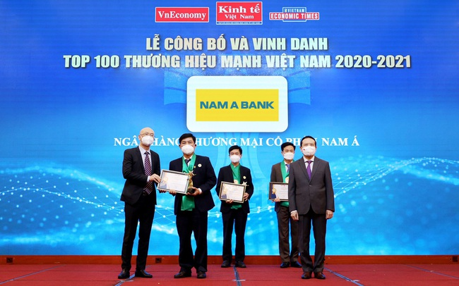 """Nam A Bank – """"Thương hiệu mạnh Việt Nam"""" 6 lần liên tiếp"""