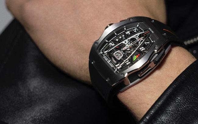Richard Mille phá vỡ mọi giới hạn chế tác đồng hồ với RM 40-01 Automatic Tourbillon McLaren Speedtail