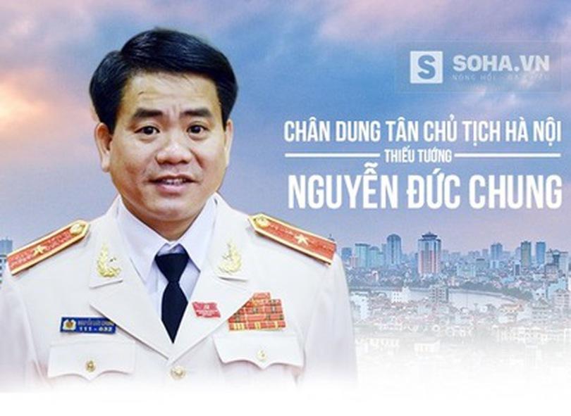 [Infographic] Chân dung tân Chủ tịch Hà Nội - tướng Nguyễn Đức Chung