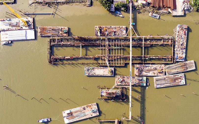 Cận cảnh dự án chống ngập 10.000 tỷ đồng ở Sài Gòn dừng thi công