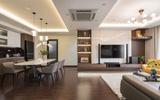 Căn hộ 120m² đẹp sang chảnh chẳng kém gì biệt thự tại Hà Nội