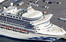 Nhật Bản có thêm 2 ca tử vong vì corona, nạn nhân là khách trên siêu tàu du lịch Diamond Princess