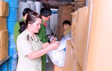 Phát hiện 1 cơ sở sản xuất khẩu trang trái phép tại Bình Dương