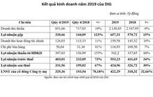 DIG: Lãi ròng quý 4/2019 đạt hơn 329 tỷ đồng, tăng hơn 70% so với cùng kỳ