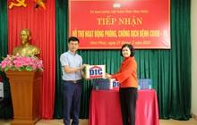 Tập đoàn DIC trao tặng tỉnh Vĩnh Phúc 3.000 chai dung dịch sát khuẩn