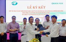Lễ ký kết hợp tác phát triển khách sạn đẳng cấp 6 sao tại trung tâm Quảng Bình