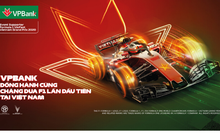 VPBank tặng 45 cặp vé xem giải đua xe F1 Việt Nam Grand Prix cho khách hàng