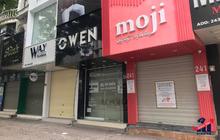 Hà Nội: Phố thời trang không một bóng người, loạt cửa hàng đóng cửa, trả mặt bằng
