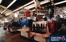 Quá ế ẩm mùa dịch Covid-19, nhiều tiểu thương chợ Bến Thành đóng cửa ngừng bán và sang lại sạp