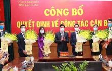Bắc Giang bổ nhiệm hàng loạt Giám đốc, Phó Giám đốc Sở