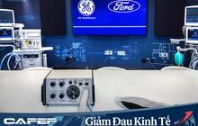Ford hợp tác với GE Healthcare sản xuất 50.000 máy thở trong 100 ngày hỗ trợ bệnh nhân Covid-19