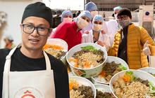Đầu bếp người Việt nấu bún bò tiếp sức cho y bác sĩ Pháp chống dịch Covid-19: Một hành động tốt sẽ tạo ra những việc tốt khác