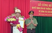 Công an tỉnh Bến Tre có tân Phó Giám đốc