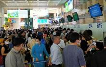 Hàng không delay nhiều do sửa đường băng Nội Bài, Tân Sơn Nhất, Bộ trưởng mong khách thông cảm