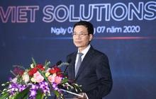 Bộ trưởng Nguyễn Mạnh Hùng: Doanh nghiệp công nghệ số cần nhất là thị trường, có thị trường sẽ có đầu tư, có công nghệ, có con người
