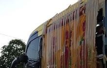 Đồng Nai: Nhiều xe khách giường nằm bị ném đá trên quốc lộ