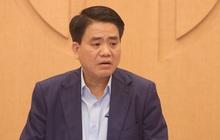 Chủ tịch Nguyễn Đức Chung đề nghị truyền thông nâng mức cảnh báo về dịch Covid-19 vì Hà Nội rất đáng lo lắng