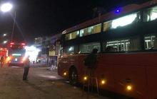 Xác định nhóm thanh niên ném đá khiến hàng loạt xe khách bị bể kính giữa khuya ở Đồng Nai
