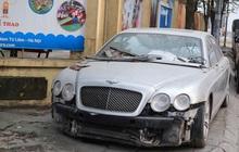 """Chùm ảnh: Siêu xe Bentley 20 tỷ nằm """"xếp xó"""" trên vỉa hè Hà Nội, hơn 5 năm qua không ai biết chủ nhân ở đâu"""