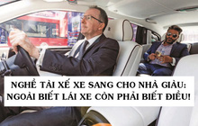 """Tâm sự """"thầm kín"""" của tài xế Rolls-Royce cho giới nhà giàu: Phải lái xe như một quý ông, chỉ được đeo cà vạt xanh/đen và không nhiều chuyện!"""